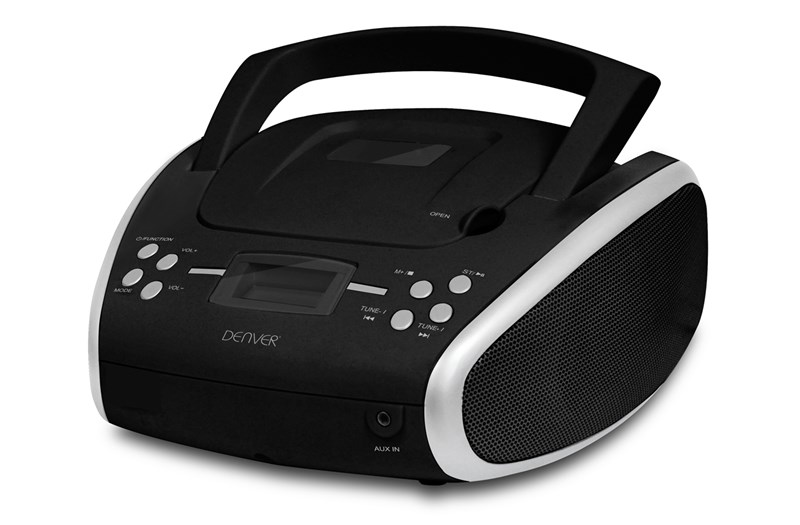 DENVER TC-24 CRNI CD PLAYER/FM RADIO