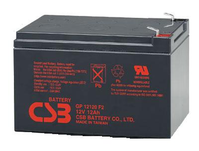 UPS CSB Baterija, 12V-12 Ah  GP12120 F2