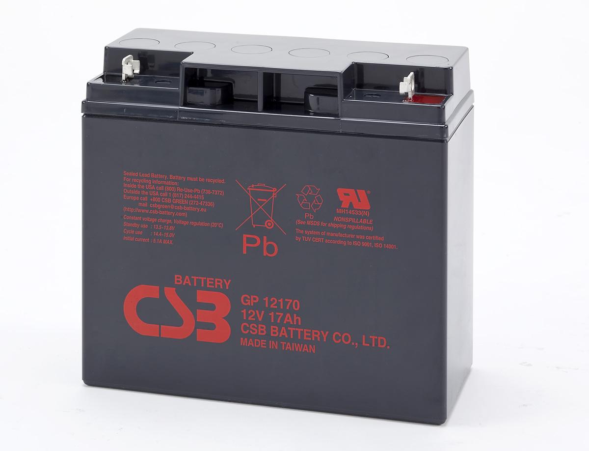 UPS CSB Baterija, 12V-17 Ah  GP12170