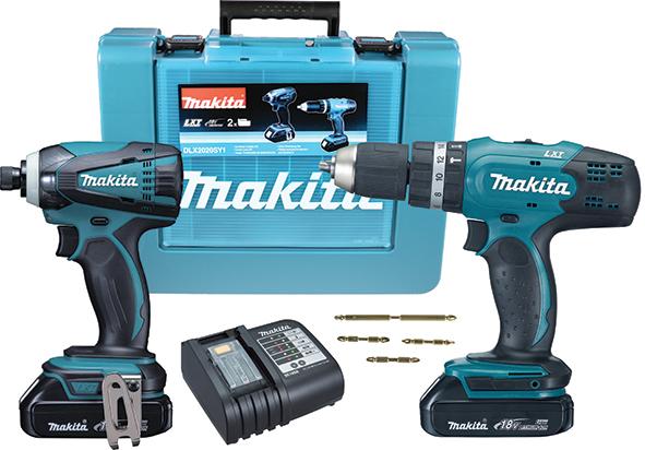 Makita DLX2020SY1 akumulatorski set