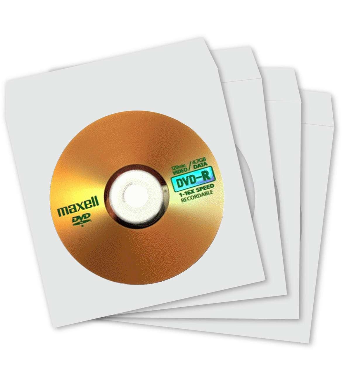 Maxell DVD-R 4.7GB 16X papirna kesa