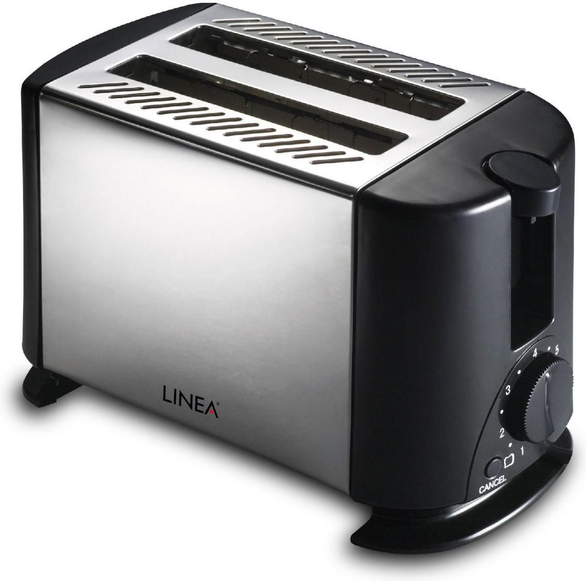 Linea Toster LTX-0319 inox  650W