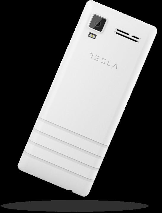 Tesla Feature 3 White