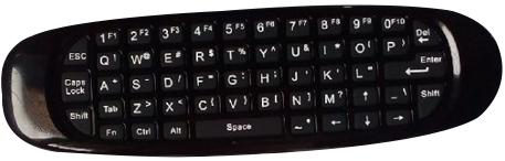 Gembird GMB-FLY Mouse 2,4GHz , bezicni daljinski sa tastaturom